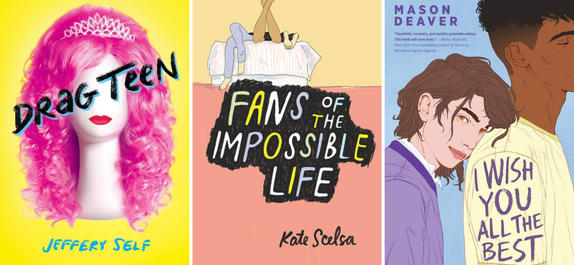 Queerly Not Straight: 10 LGBTQ+ Audiobooks Available on Hoopla