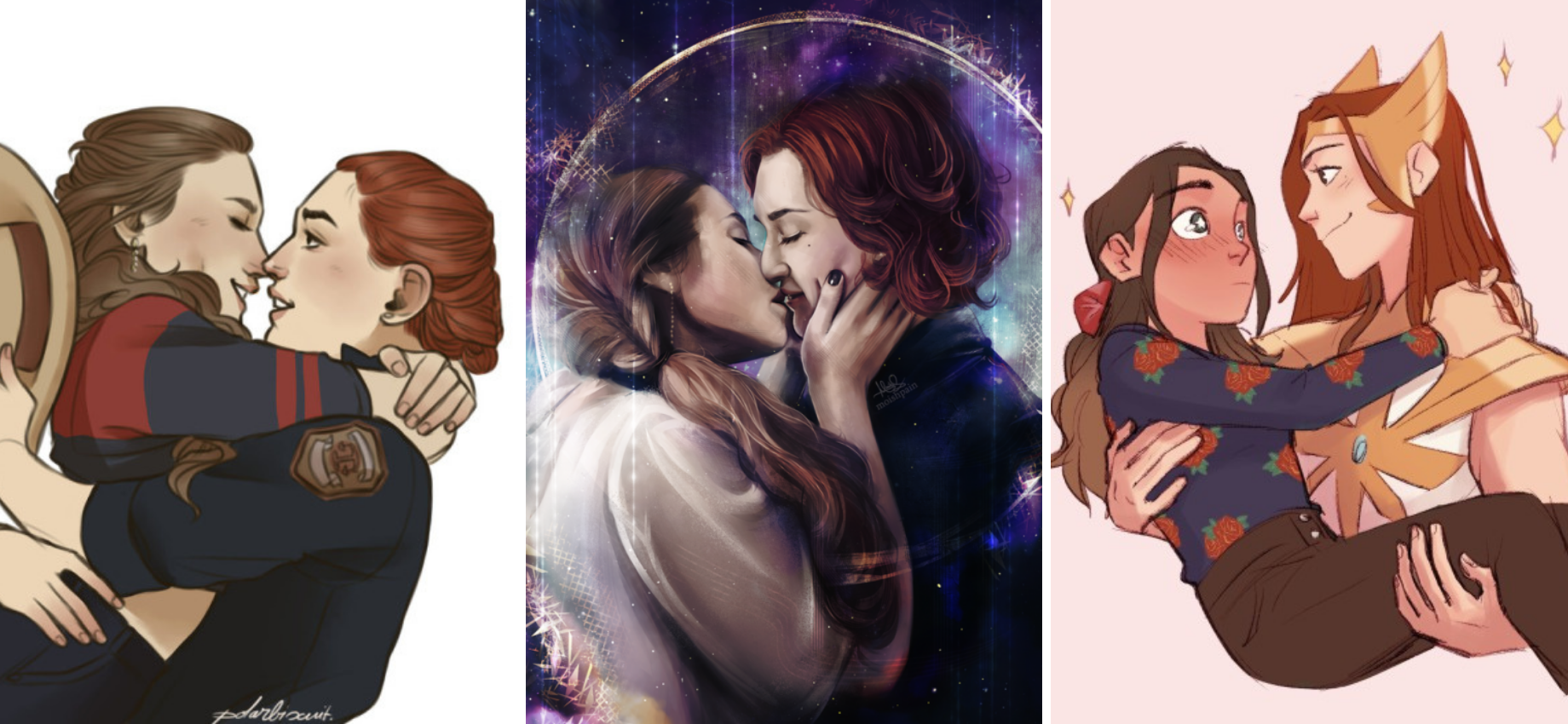 'Wynonna Earp': 14 #Wayhaught Fanart Pieces That Made Us Swoon