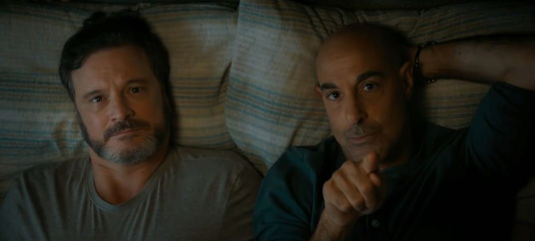The Internet is Crying Over Stanley Tucci and Colin Firth in 'Supernova'