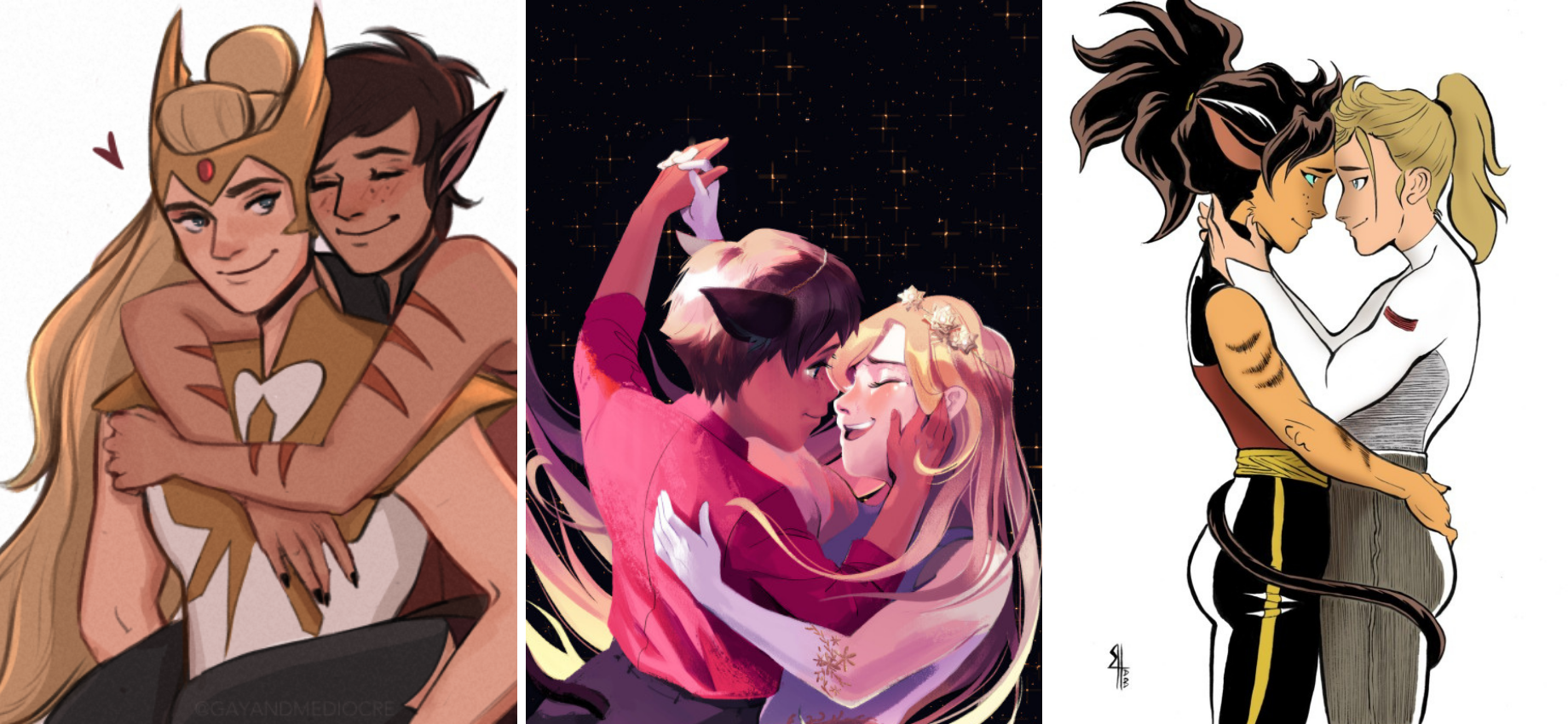'She-Ra and the Princesses of Power': 26 #Catradora Fanart Pieces That Made Us Swoon