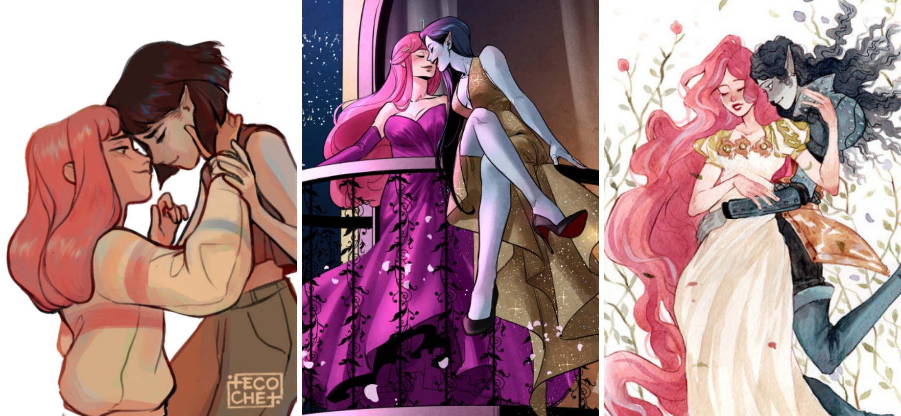 'Adventure Time': 30 #Bubbline Fanart Pieces That Made Us Swoon