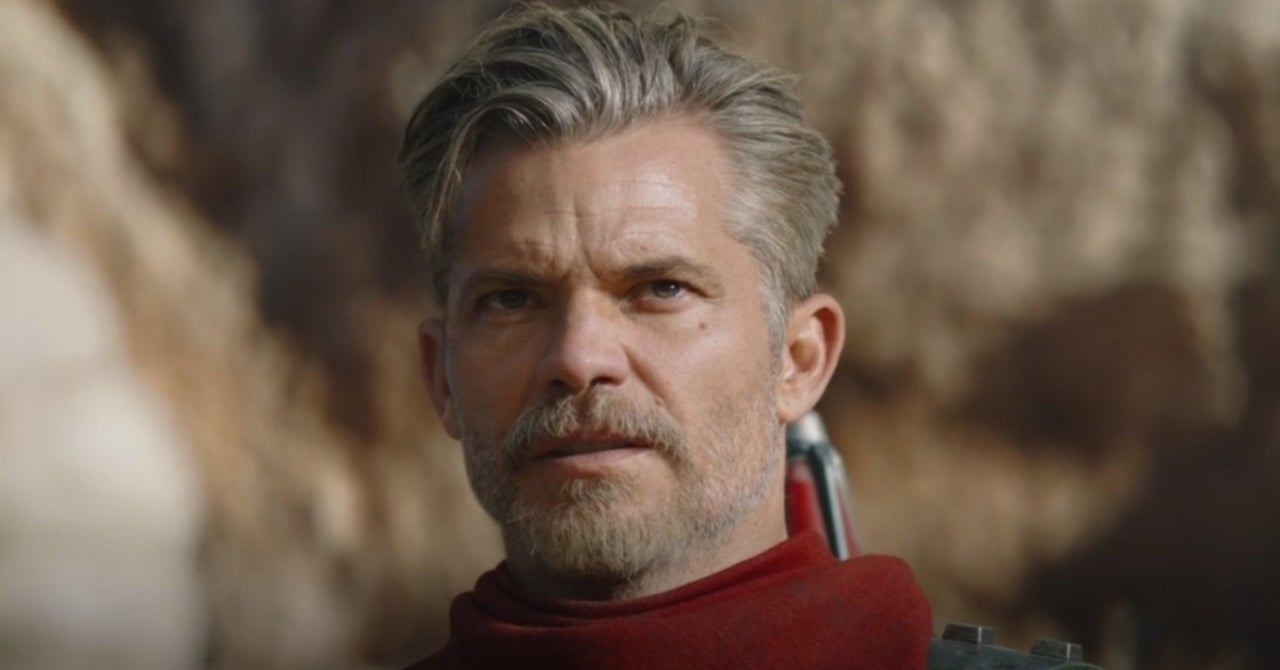 The Internet is Thirsting Over Timothy Olyphant on 'The Mandalorian' and So Are We!