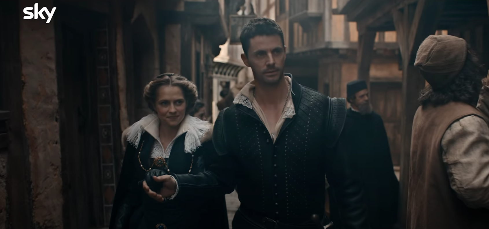 #Bishmont is Intense AF in the Latest 'A Discovery of Witches' Season 2 Trailer