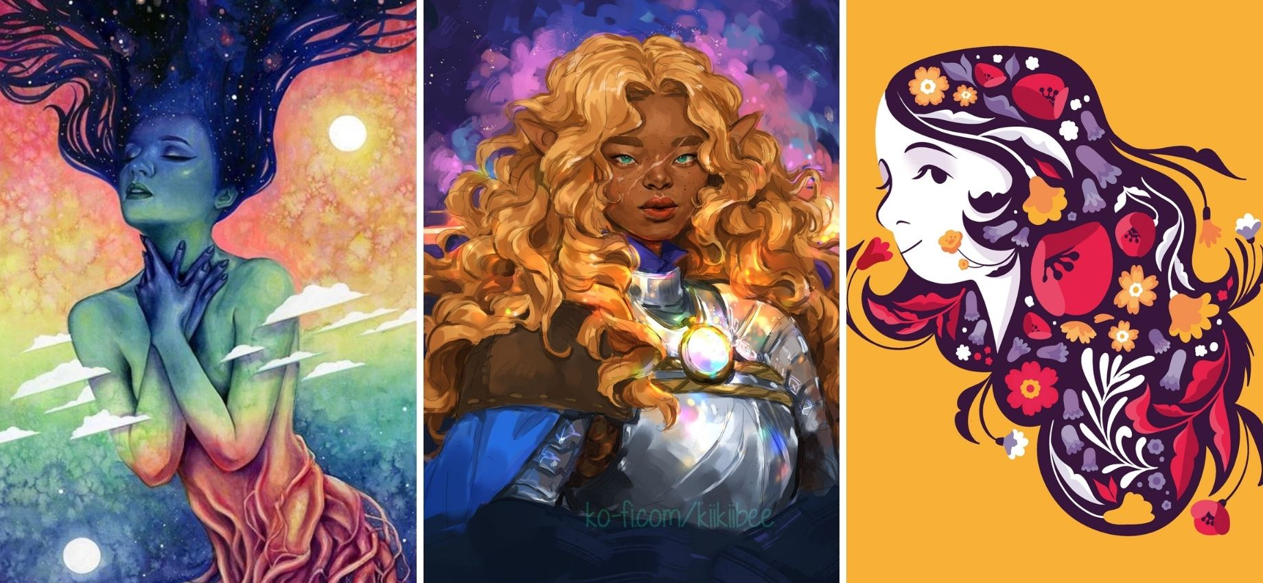Queerly Not Straight: 15 LGBTQ #VisibleWomen Artists You Should Follow