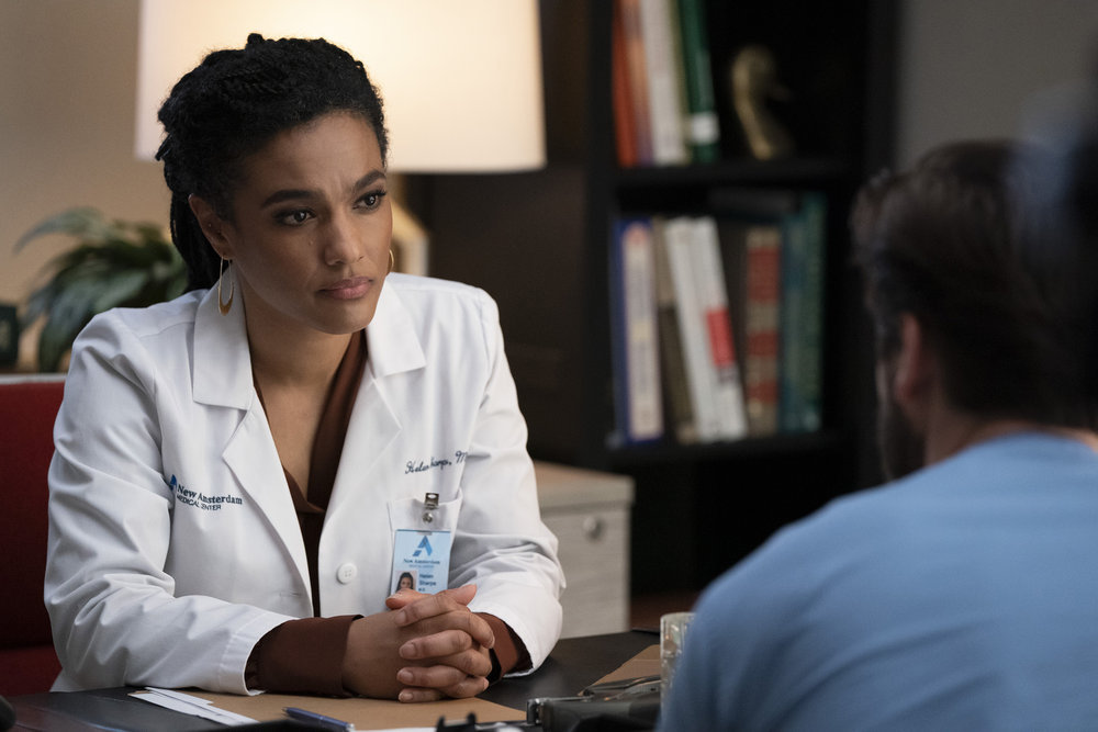 "NEW AMSTERDAM -- ""Safe Enough"" Episode 303"