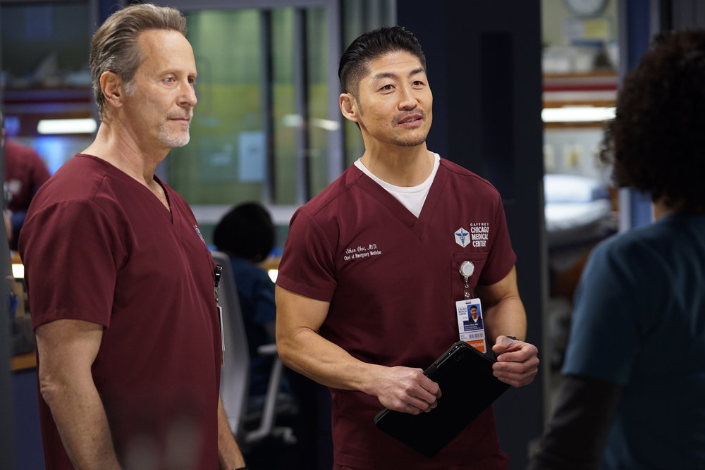 "CHICAGO MED 6x08 ""Fathers and Mothers, Daughters and Sons"""