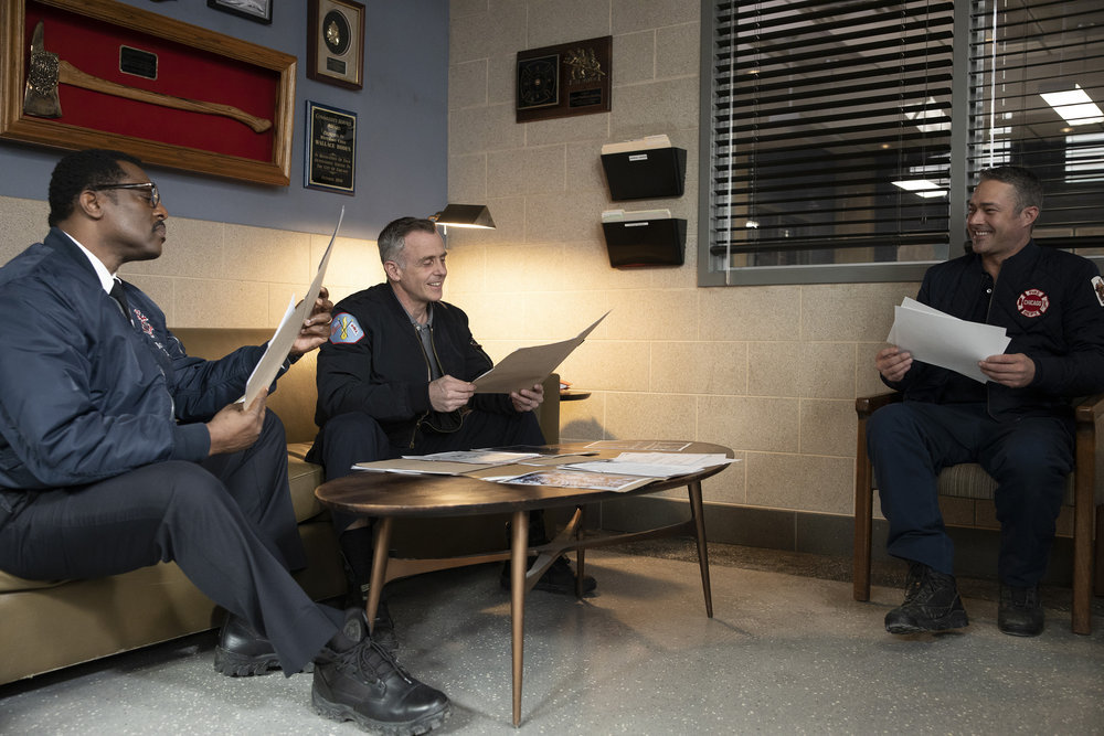 """CHICAGO FIRE -- """"One Crazy Shift"""" Episode 910"""