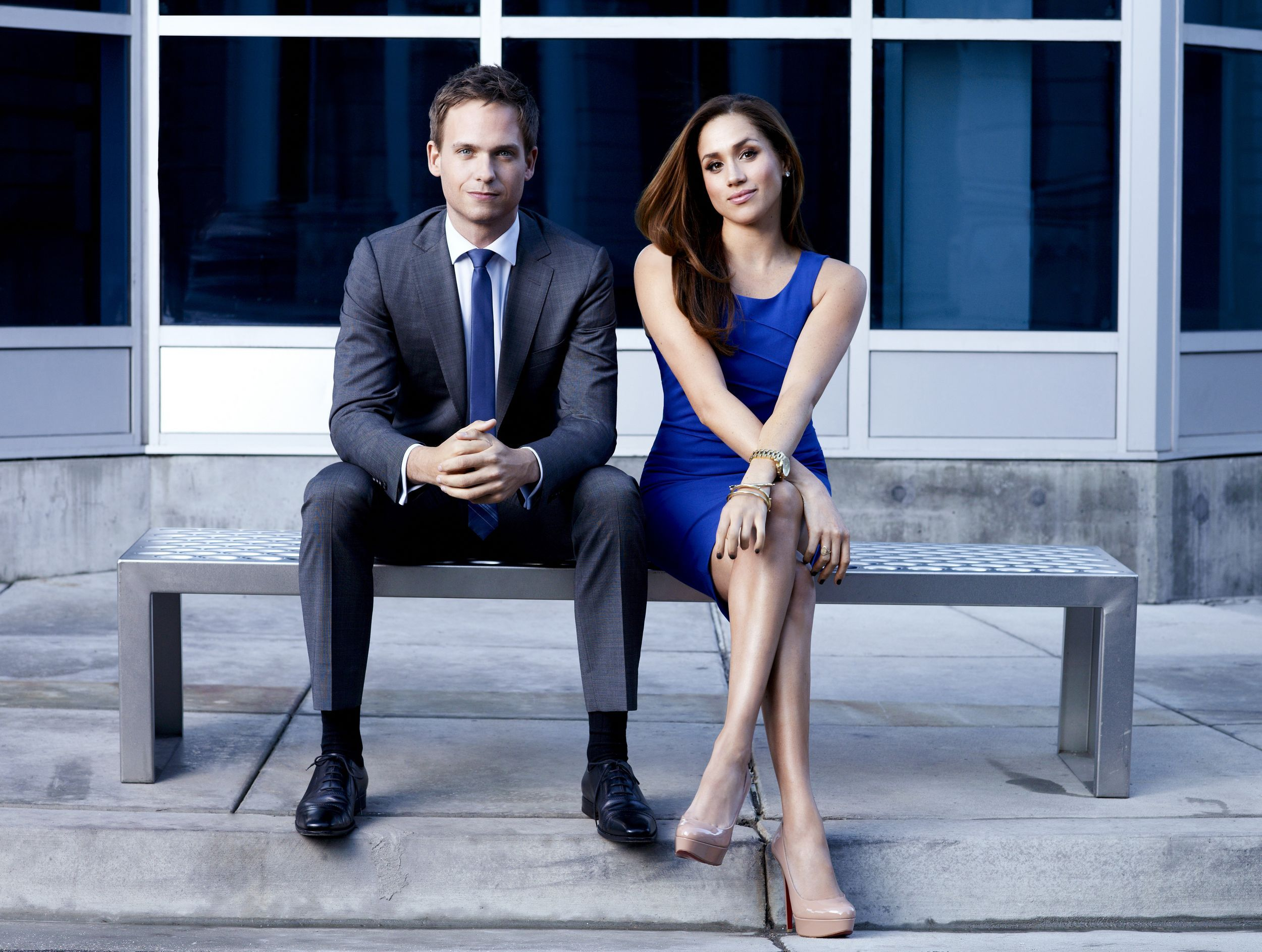 Suits - Patrick J Adams & Meghan Markle