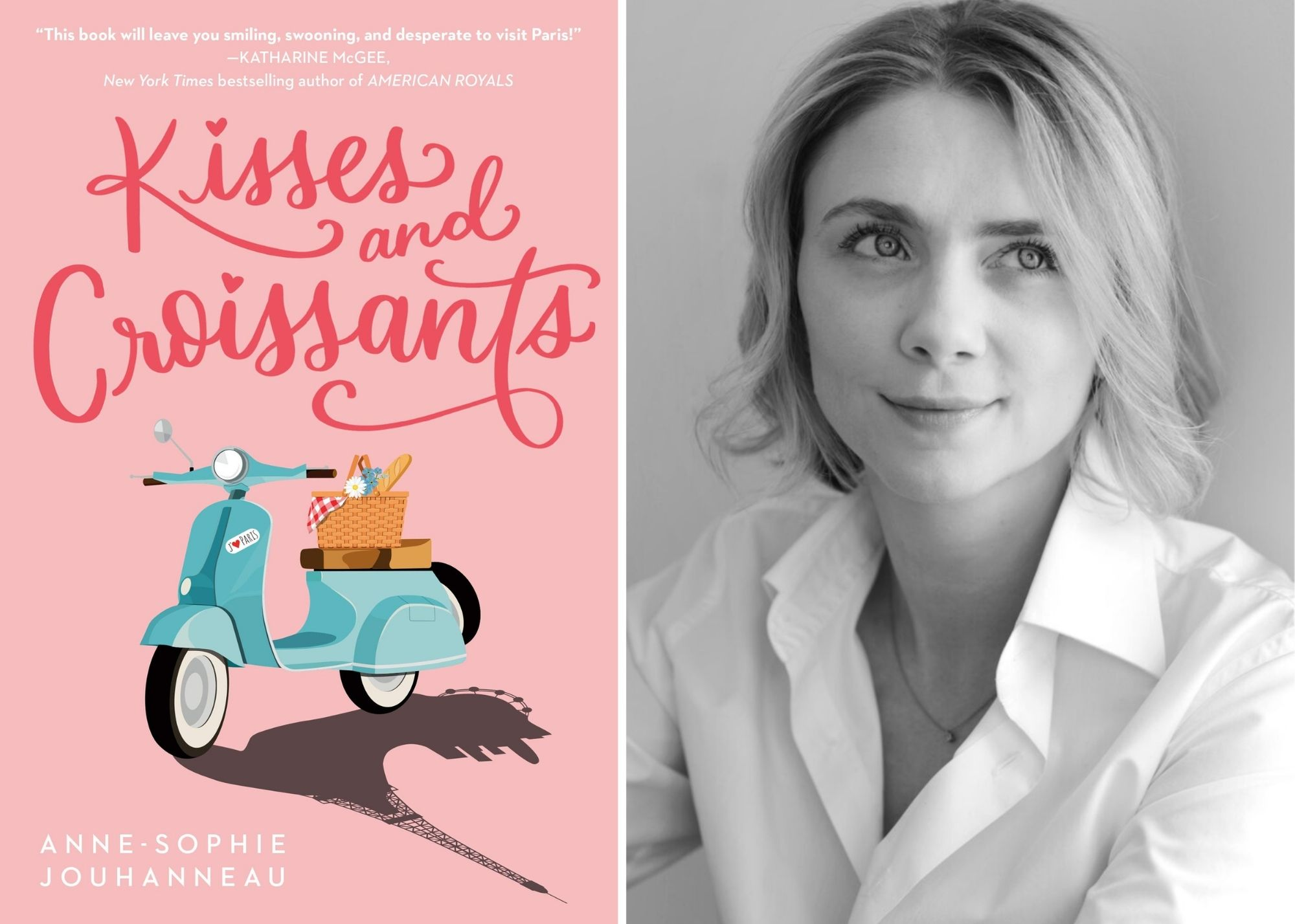Book Review: Kisses and Croissants by Anne-Sophie Jouhanneau