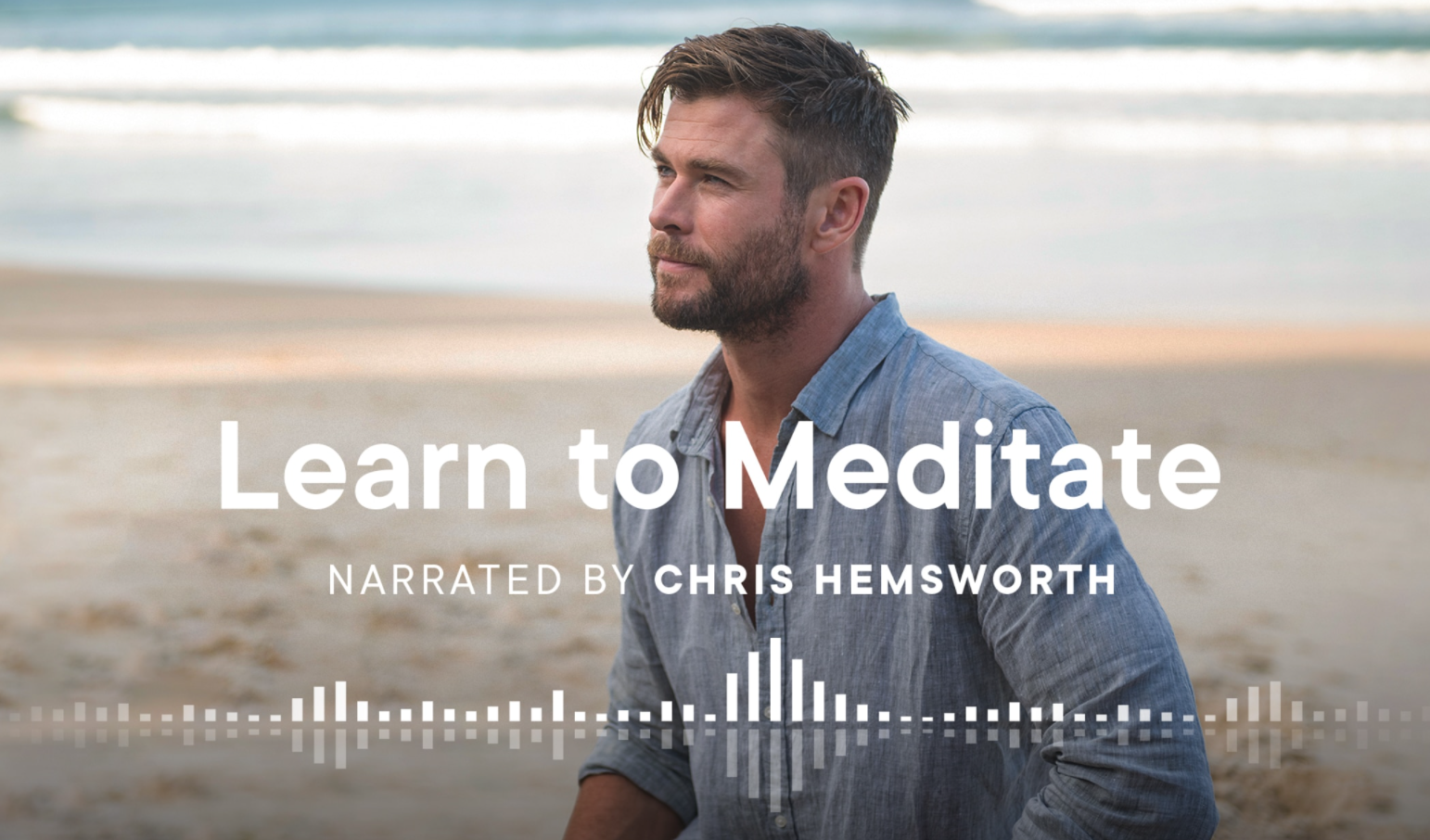 Now You Can Meditate with Chris Hemsworth 7 Days a Week
