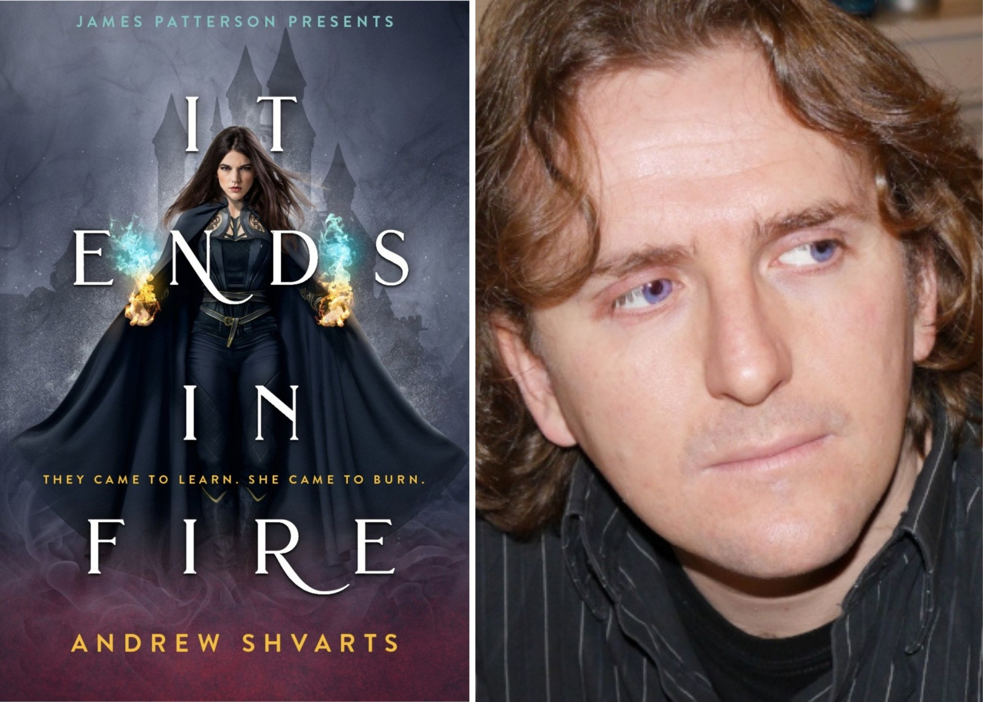 BOOK REVIEW: 'It Ends in Fire' by Andrew Shvarts is the Queer Harry Potter I've Been Waiting For