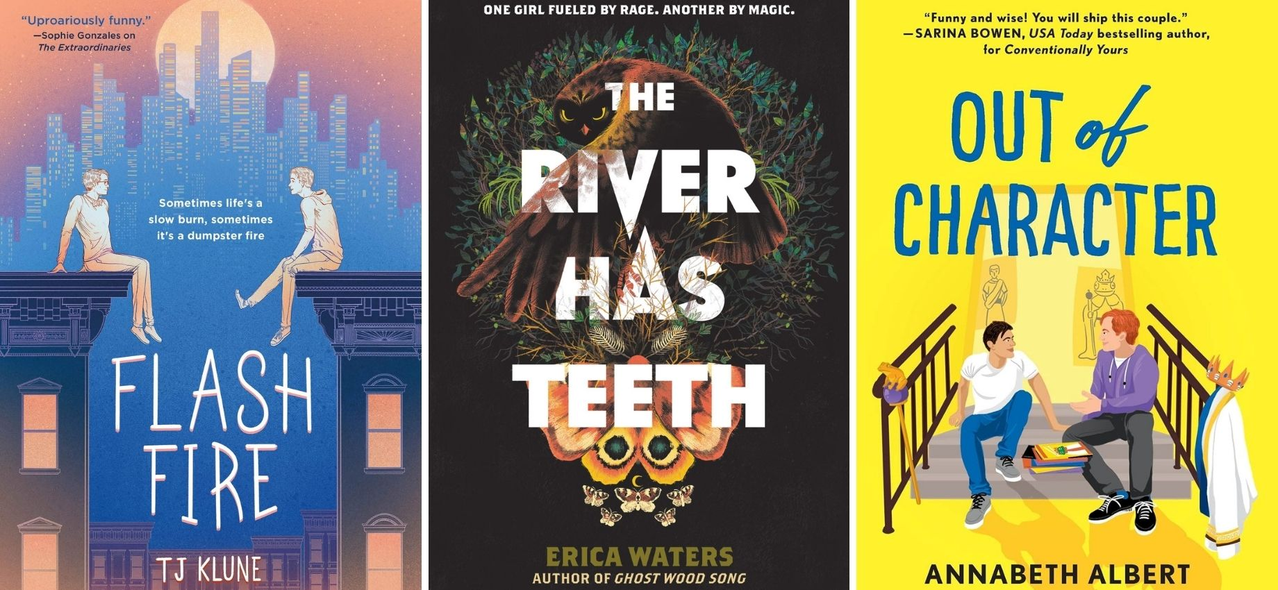 Queerly Not Straight: 10 LGBTQ+ Books You Should Read This July