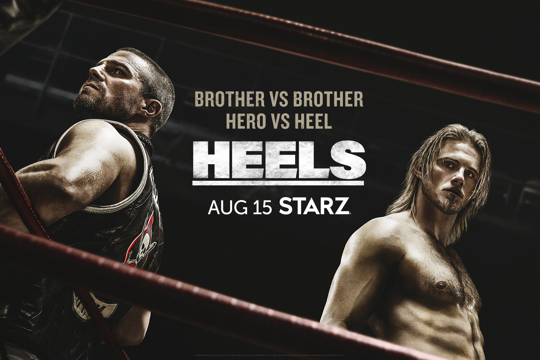 Heels Releases New Trailer And Key Art For Season 1