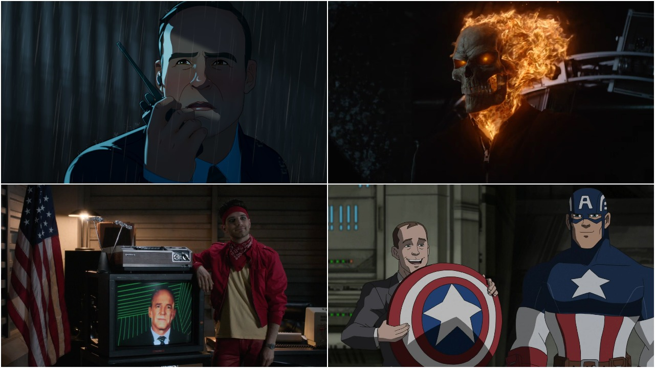 Phil Coulson collage