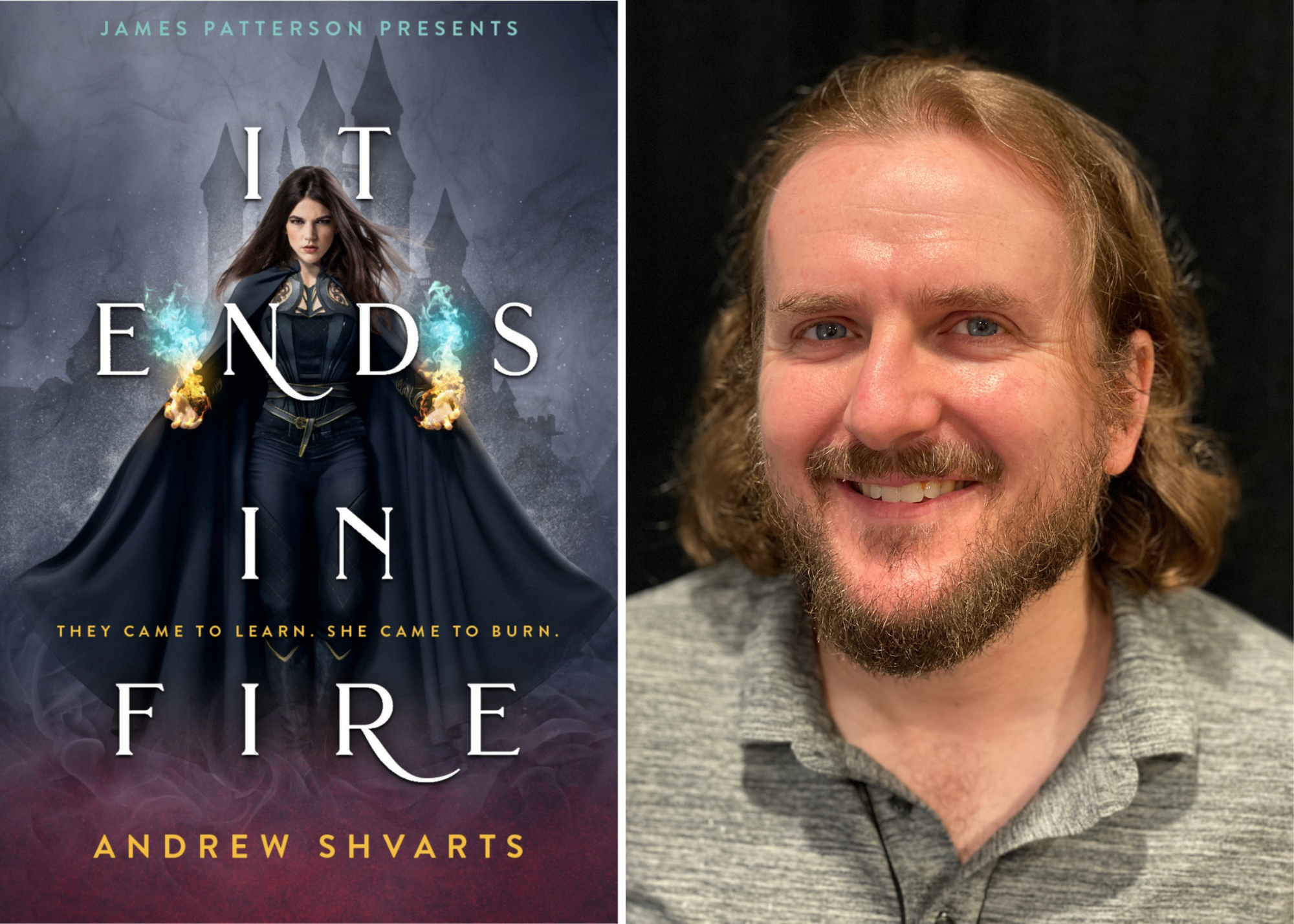 EXCLUSIVE INTERVIEW: Andrew Shvarts Talks 'It Ends in Fire' and Having a Queer Female Protagonist