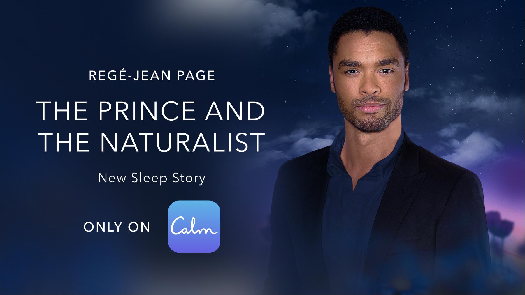 Regé-Jean Page on the Calm app