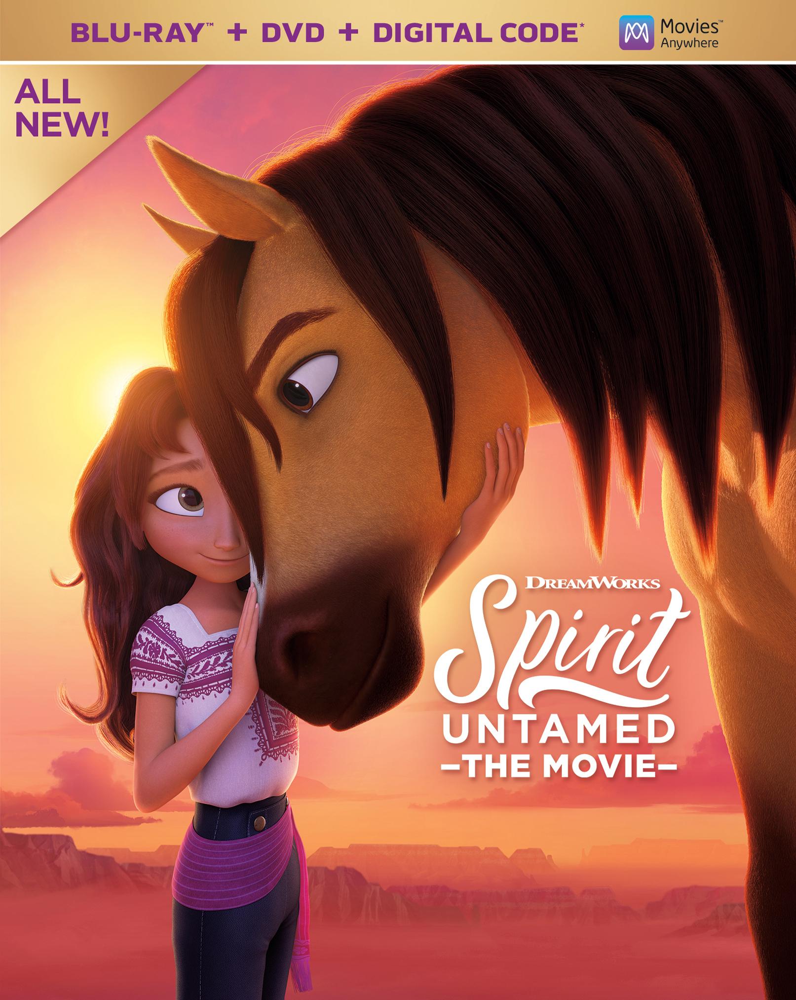 Spirit Untamed girl and horse
