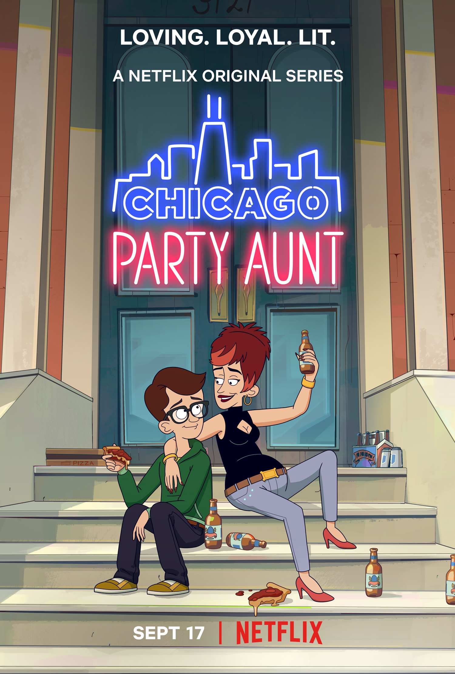 EXCLUSIVE: Netflix's Chicago Party Aunt Showrunner Matt Craig Talks About Season 1