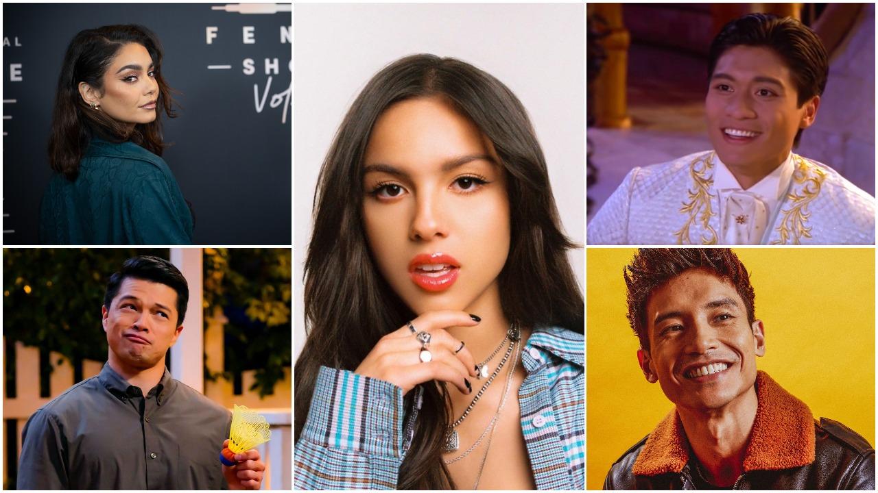 Vanessa Hudgens, Vincent Rodriguez III, Olivia Rodrigo, Paolo Montalban, Manny Jacinto